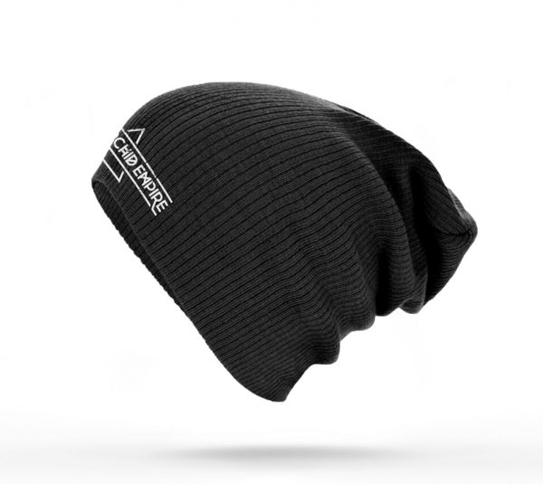 Black Orchid Empire Logo Slouch Beanie