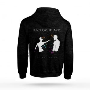 Black Orchid Empire Semaphore Hoodie Back
