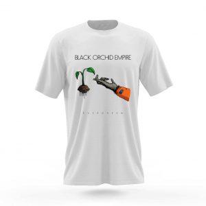 Black Orchid Empire Single Artwork Evergreen T-Shirt