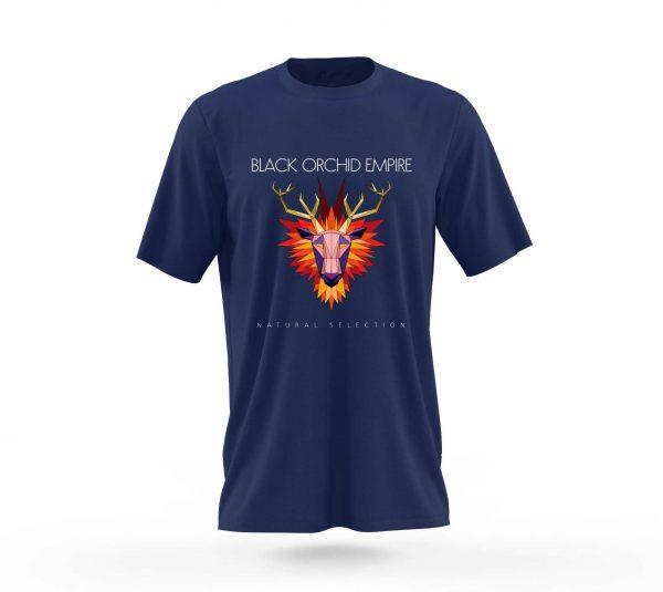 Black Orchid Empire Single Artwork Natural Selection T-Shirt